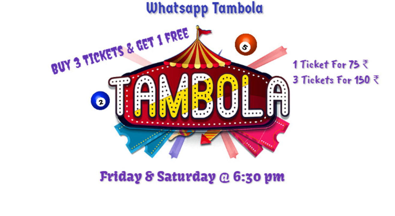 🎉Live WhatsApp Tambola 🎉