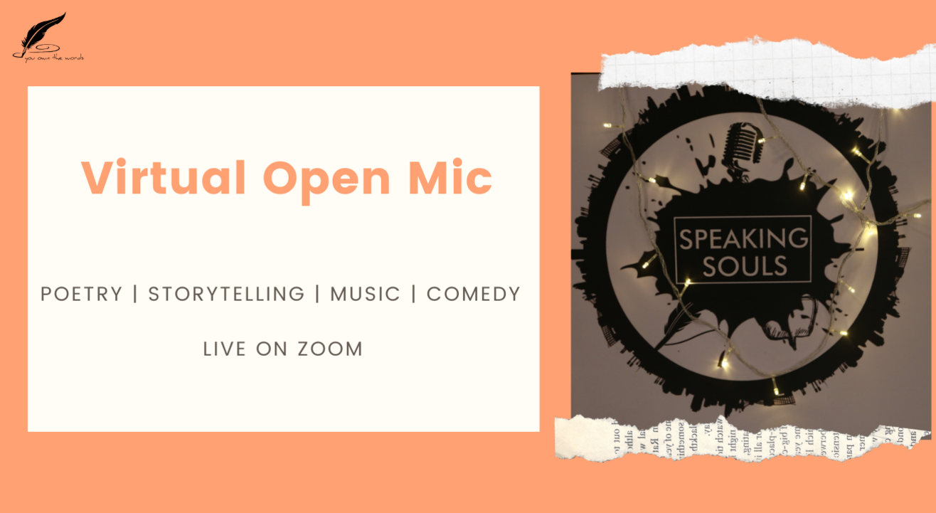 Speaking Souls - Virtual Open Mic