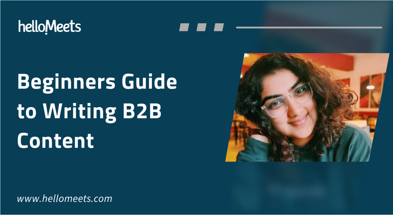 Beginners Guide to Writing B2B Content