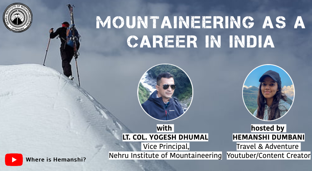 Mountaineering as a Career in India