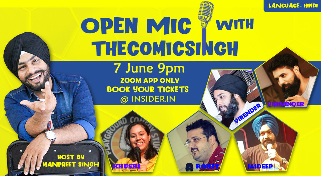 Open Mic With TheComicSingh