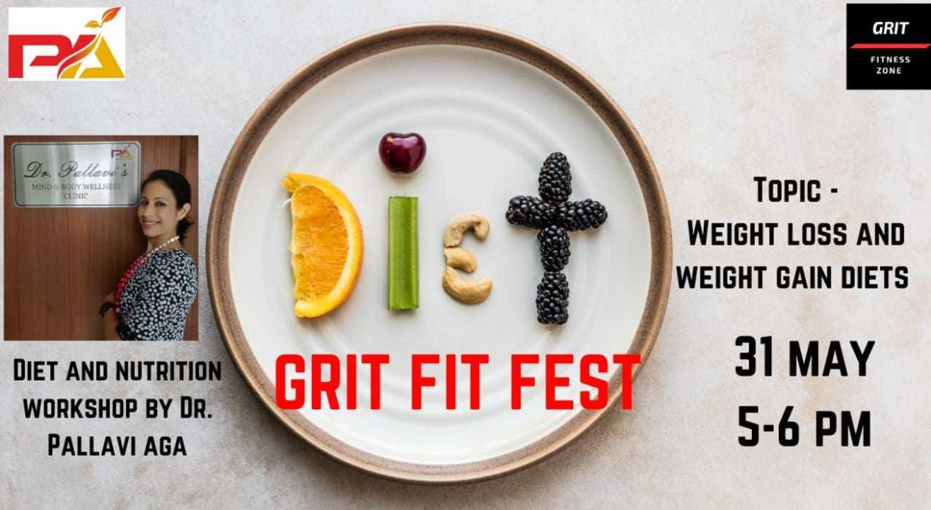Diet and nutrition workshop with Dr Pallavi Aga