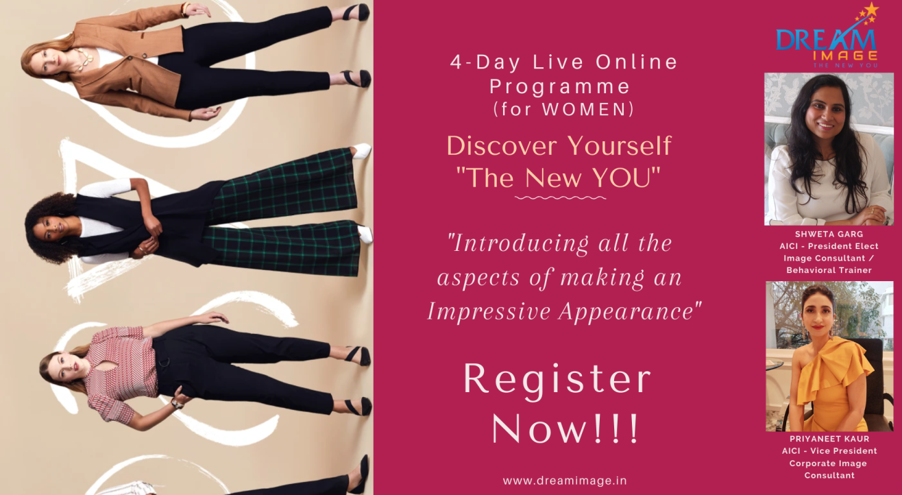"""4 Day Live Online Programme- Discover Yourself """"The New YOU"""""""
