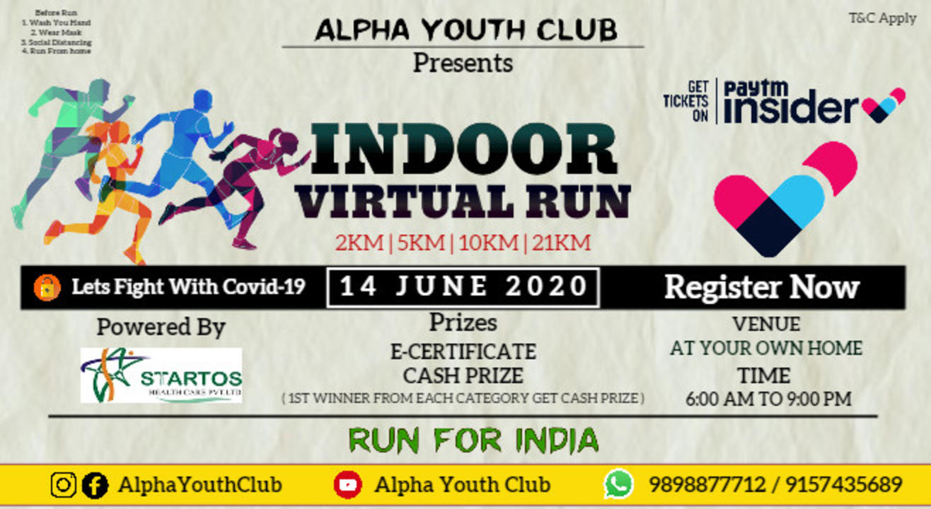 Indoor Virtual Run Powered By Ayc