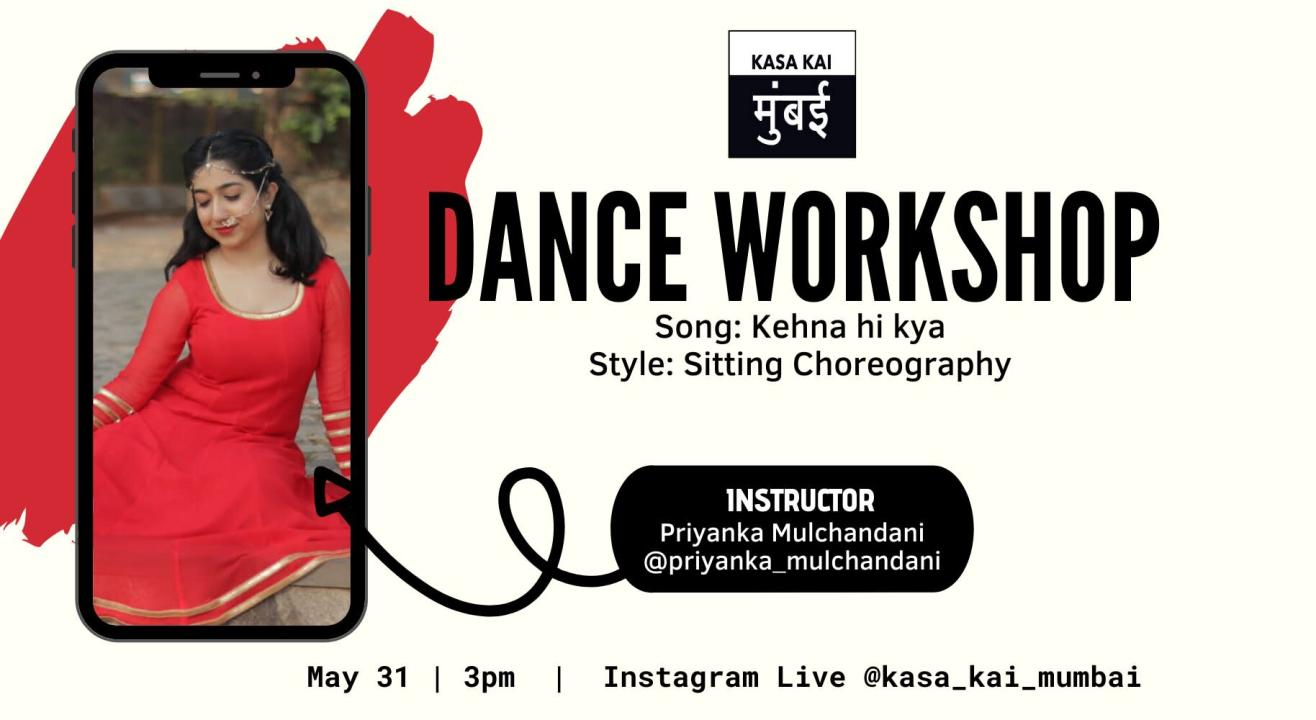 Dance Workshop With Kasa Kai At Live Instagram