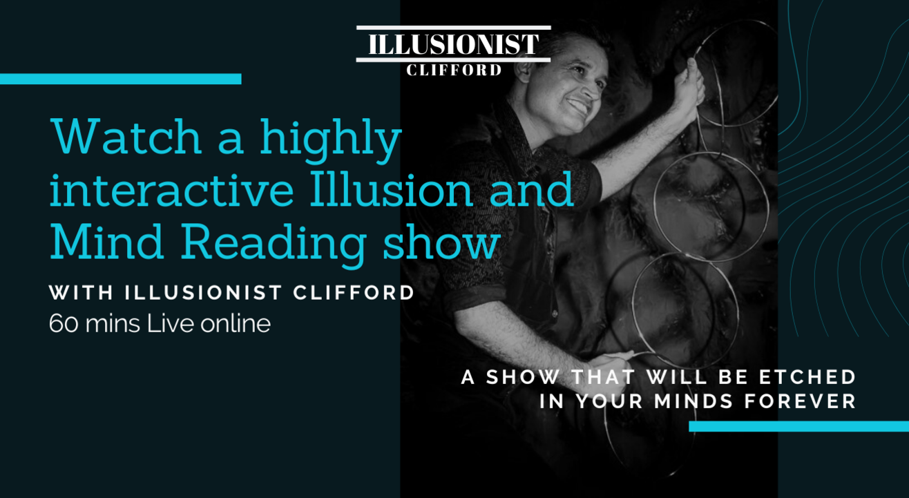 The Number One Online Magic Show- Illusionist Clifford