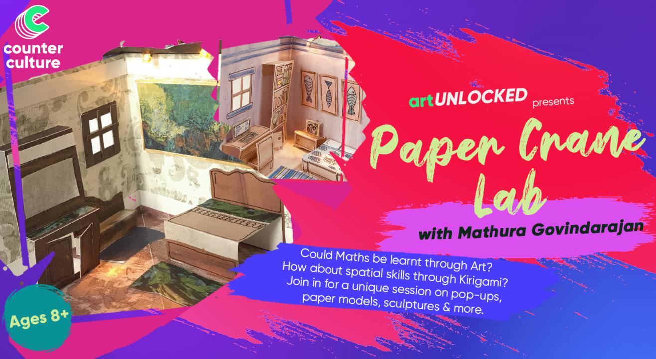 art Unlocked presents: Paper Crane Lab with Mathura Govindarajan