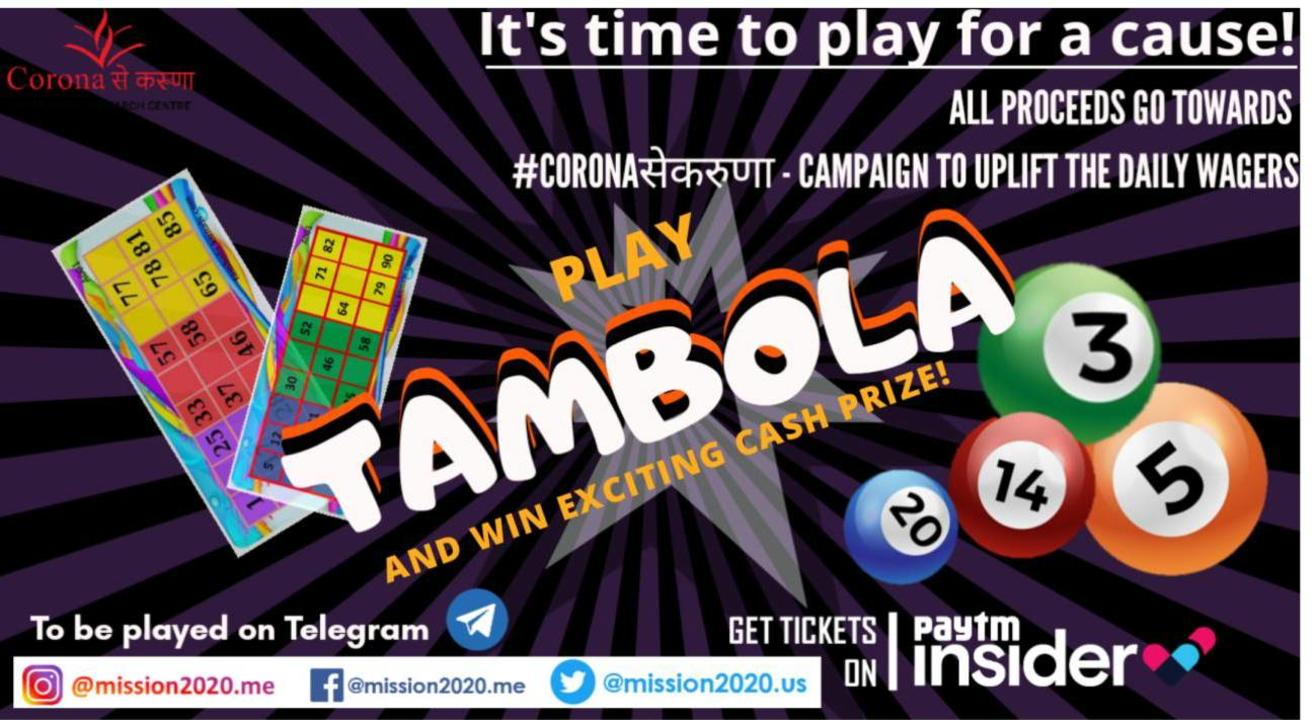 Play For A Cause- Tambola Night