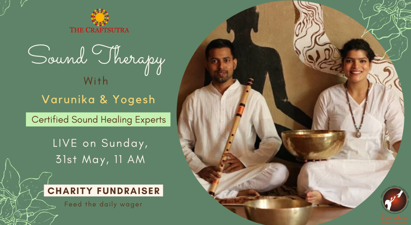 Charity Fundraiser Event - Sound Therapy Session