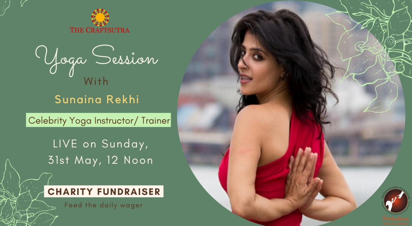 Charity Fundraiser Event - Yoga with Sunaina Rekhi