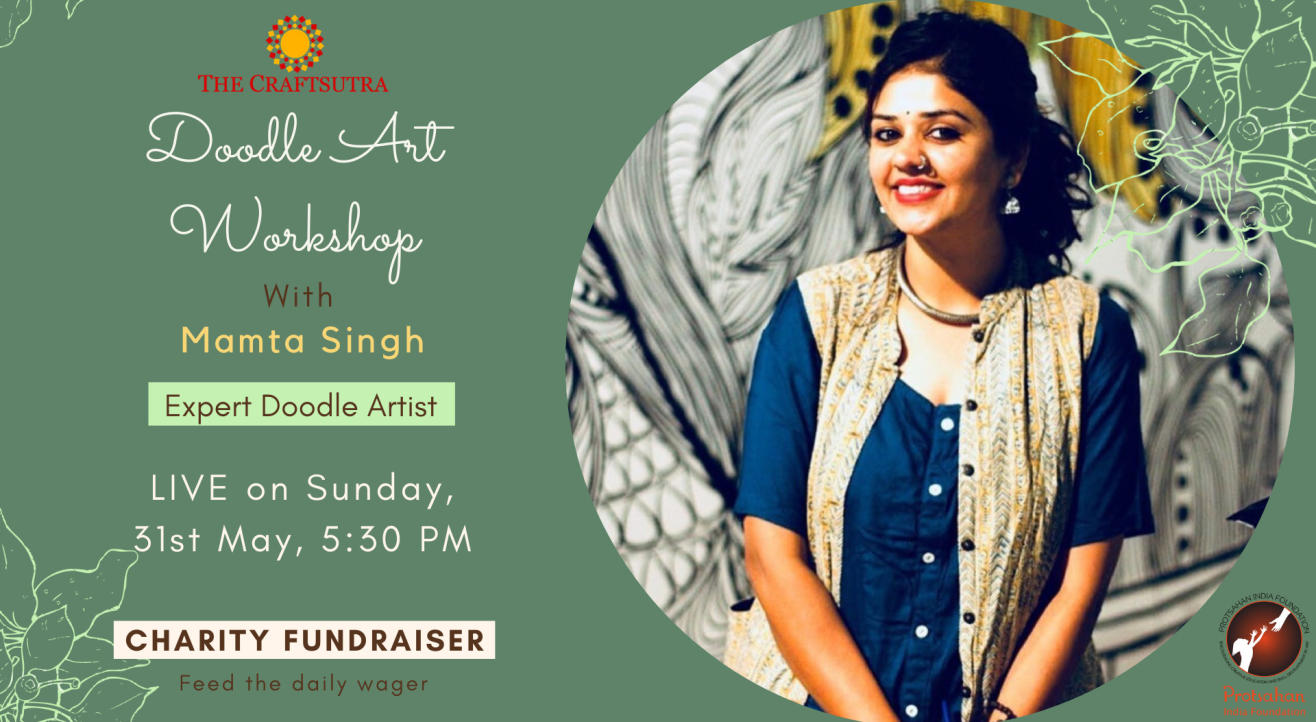 Charity Fundraiser Event - Doodle workshop with Mamta Singh