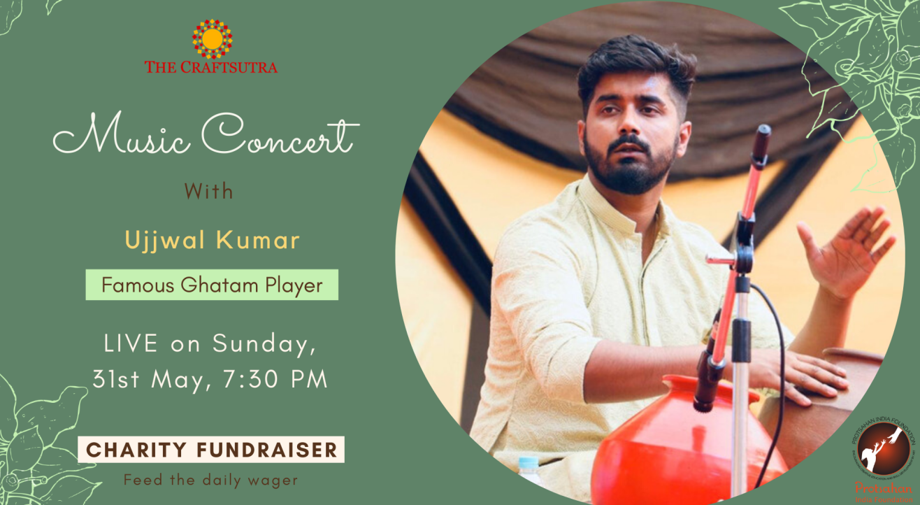 Charity Fundraiser Event - Music Concert with Ujjwal Live
