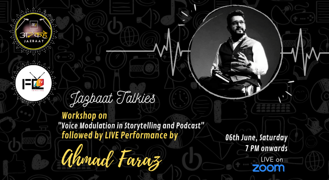 Voice Modulation in #Storytelling and #Podcast with Ahmad Faraz