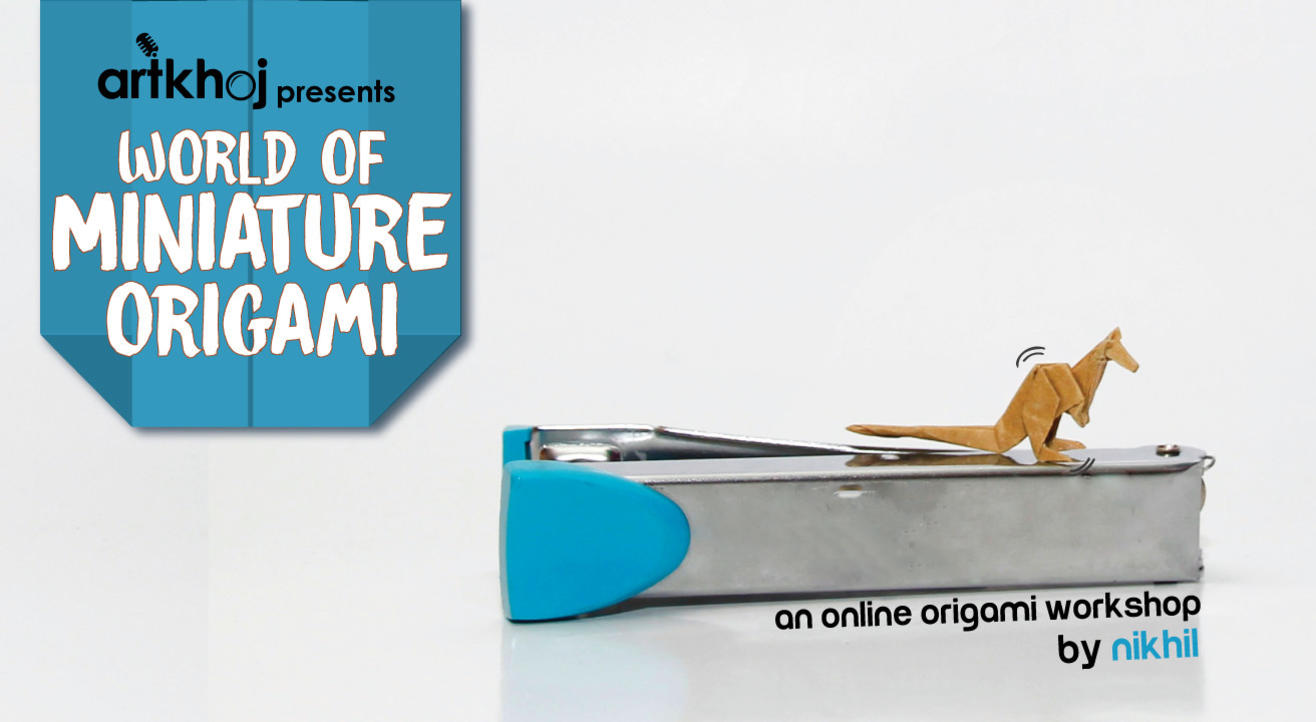 Miniature Origami for Beginners - An Online Workshop