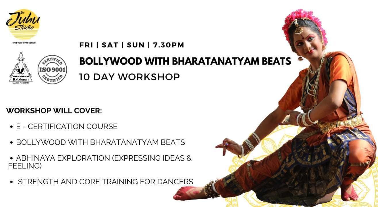 Bollywood with Bharatanatyam Beats Workshop