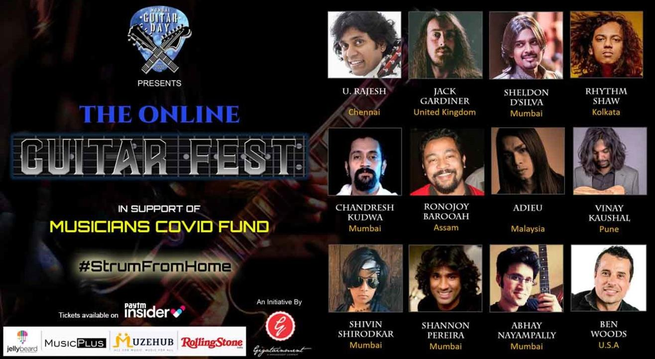 The Online GUITAR FEST 2020