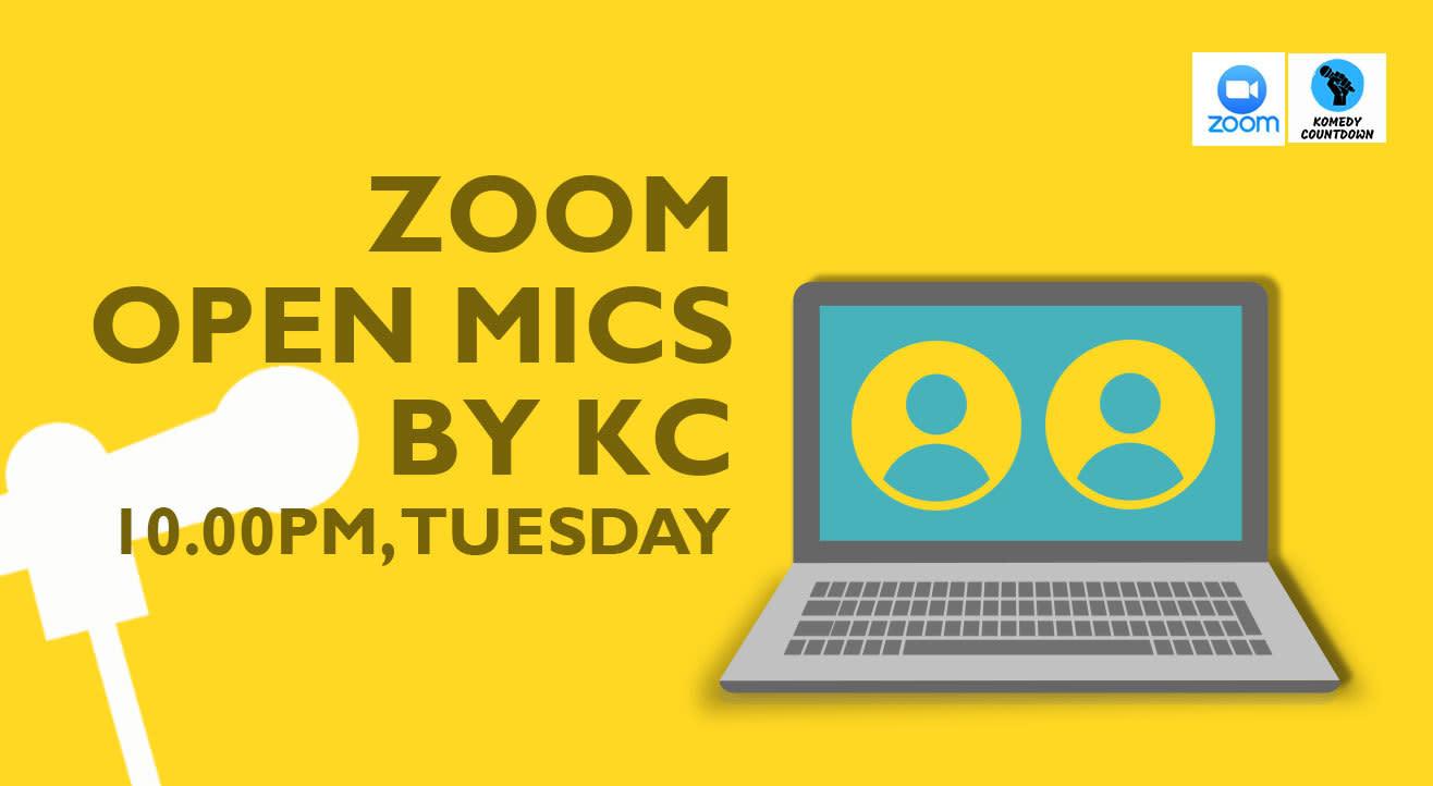 Zoom Open Mics By KC