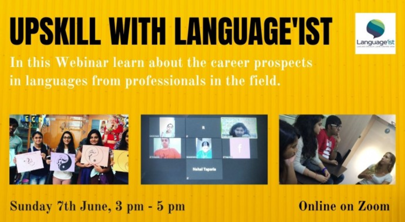 Upskill with Language'ist | Online with Doolally