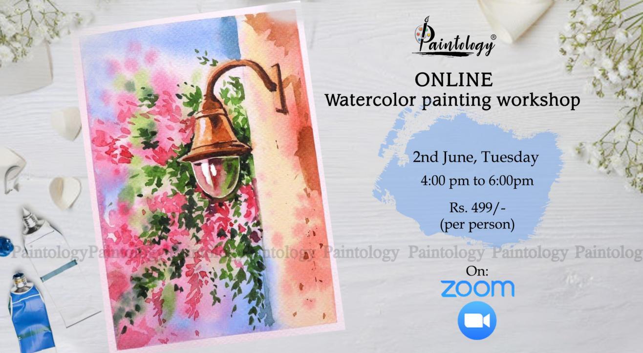 Online Water color painting workshop
