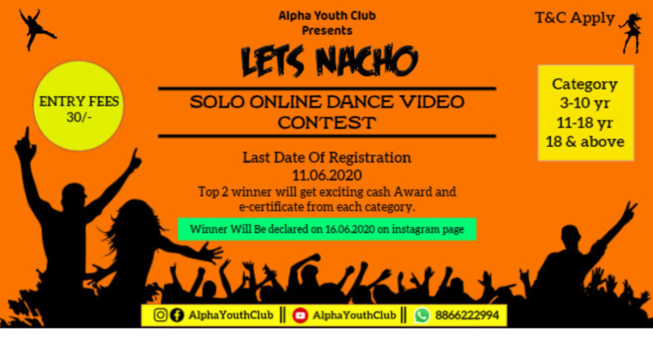 Solo Dance Competition Online Powered By AYC