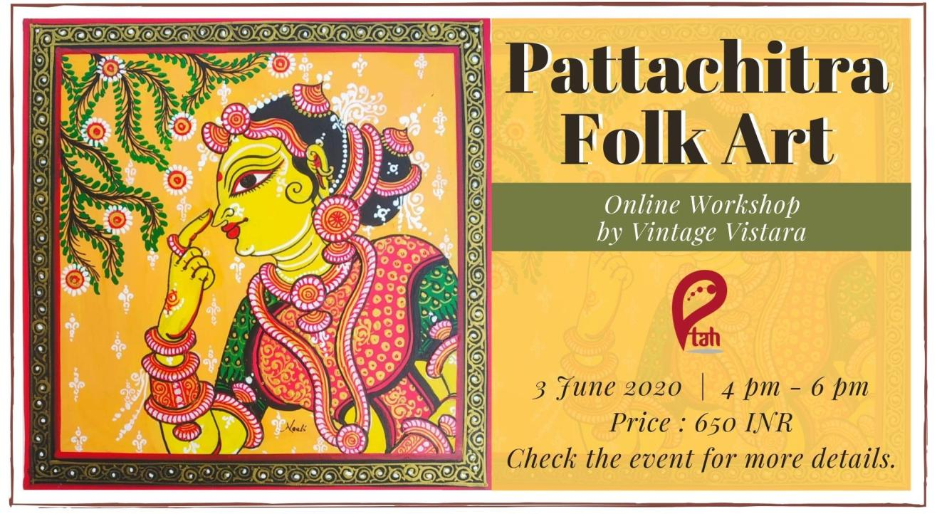 Pattachitra Folk Art : Online Workshop