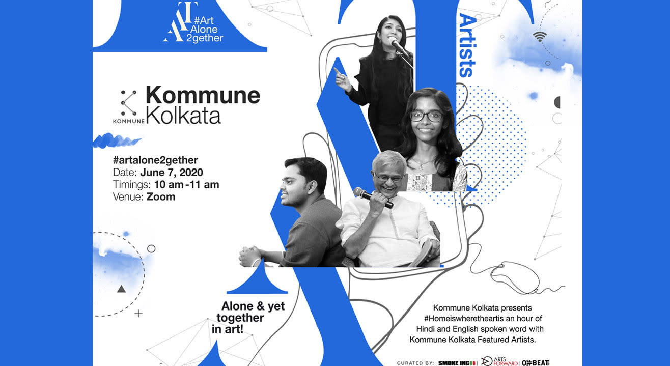 ArtAloneTogetherXKommune Kolkata
