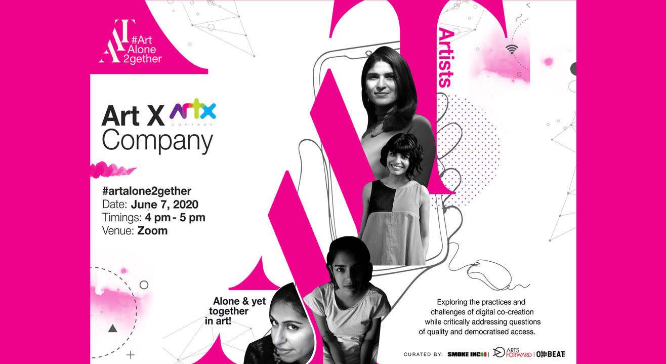 ArtAloneTogether X Art X Company (Mumbai)