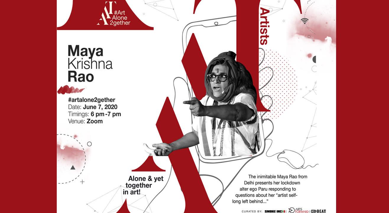 ArtAloneTogether X Maya Krishna Rao (Delhi)
