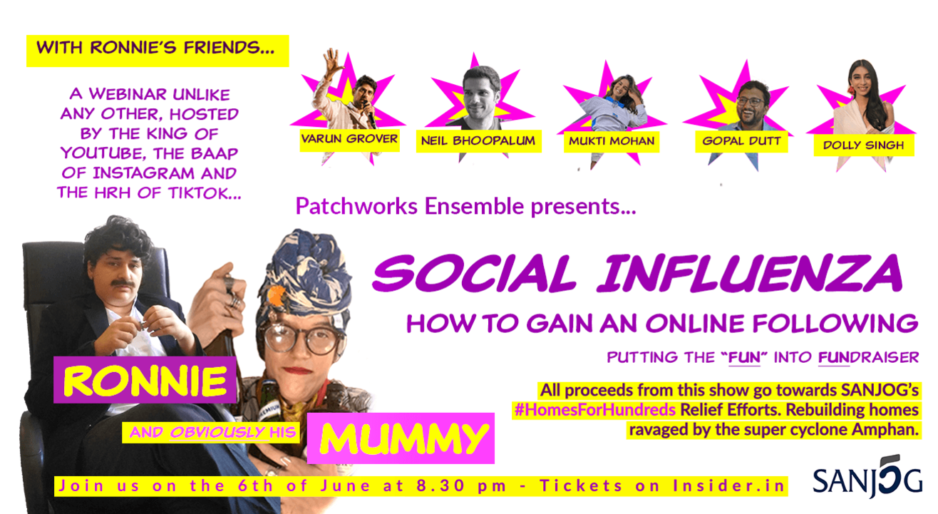 Social Influenza - Putting the fun in fundraiser