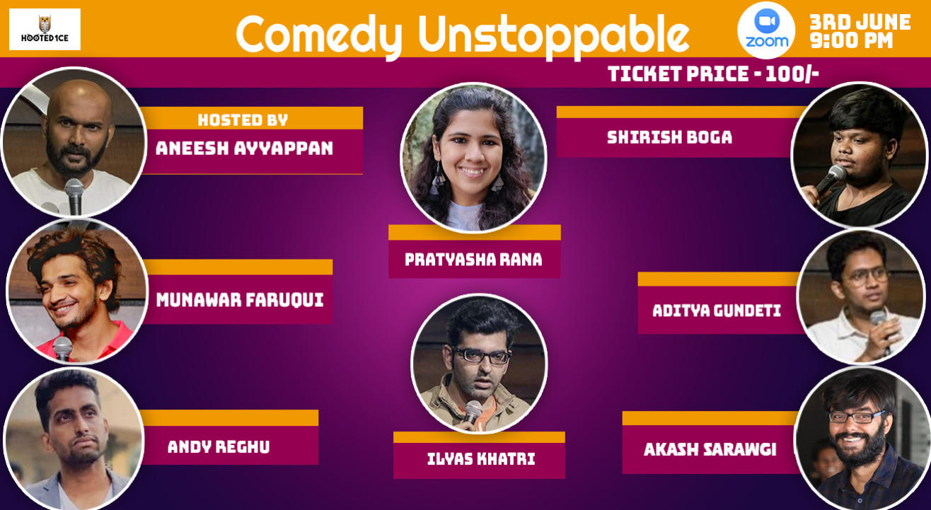 Comedy Unstoppable ft. Munawar & Andy