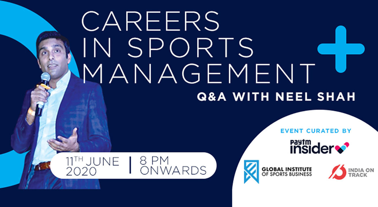 Careers in Sports Management - Q&A with Neel Shah