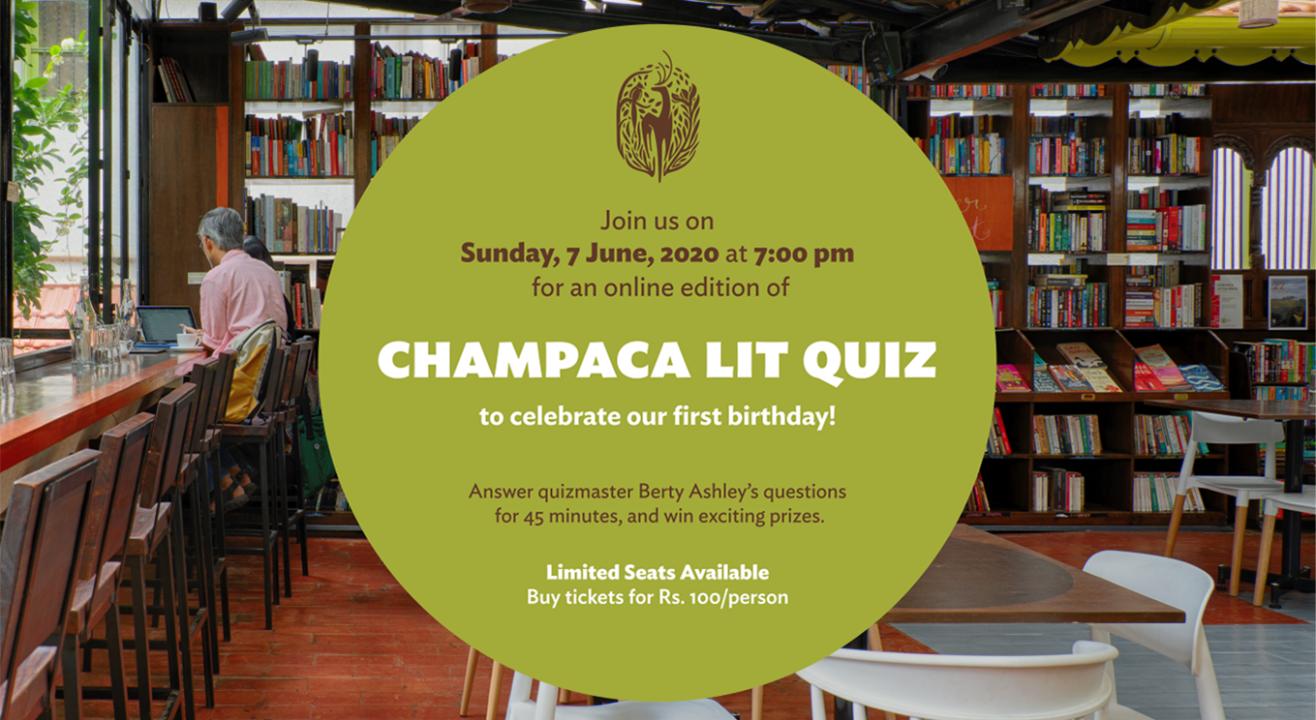 Champaca presents: a Birthday Literary Quiz