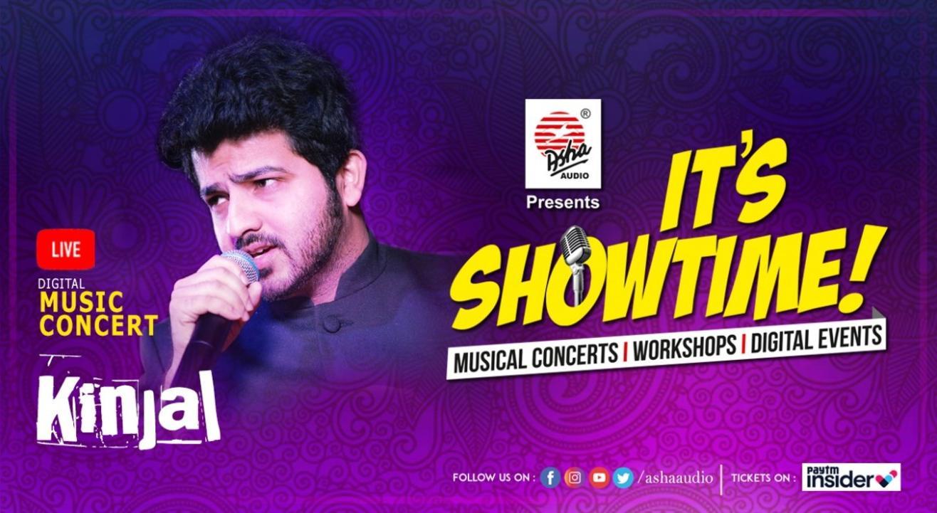 It's Showtime! Kinjal - LIVE DIGITAL Musical Concert