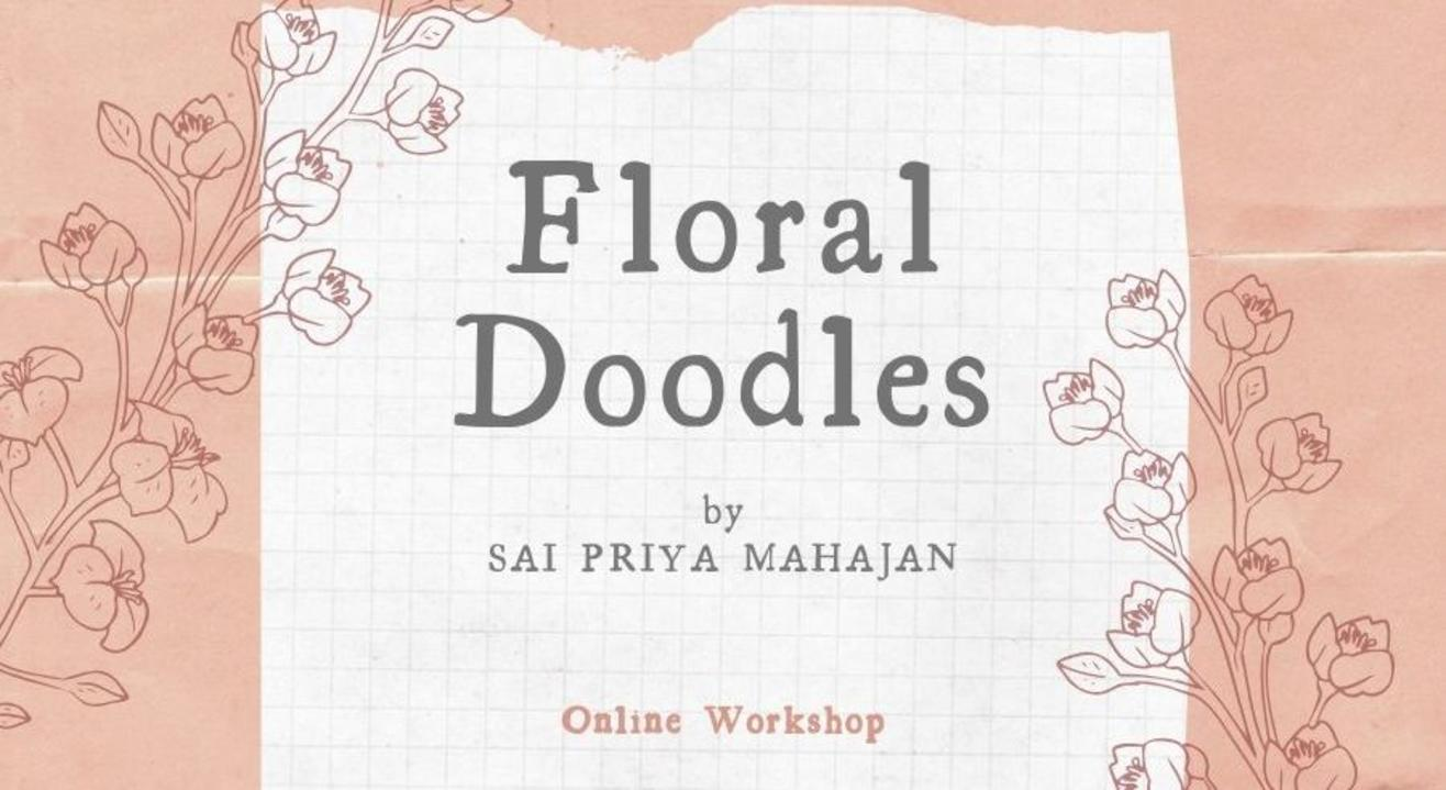 Doodling Florals Online with Sai Priya Mahajan