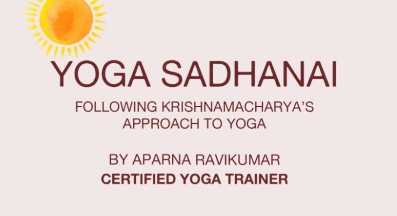 Learn Yoga With Aparna Ravikumar