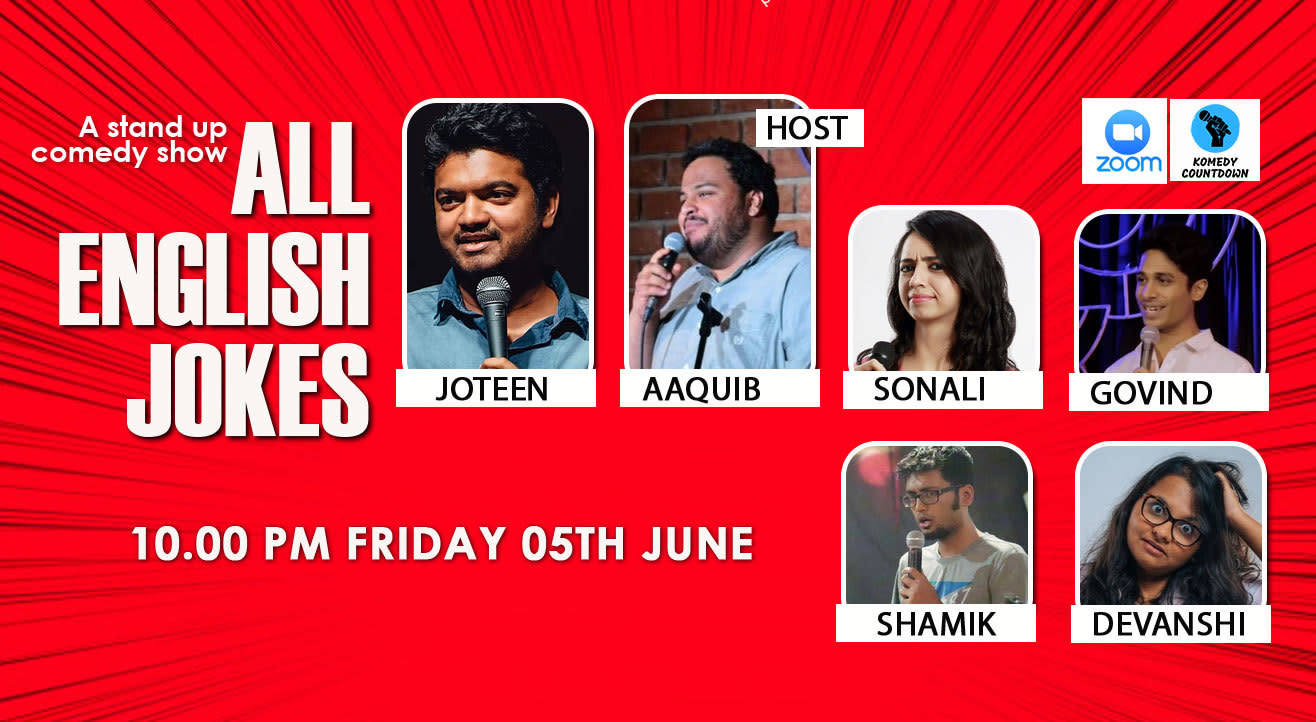 All English Jokes! - An online comedy show