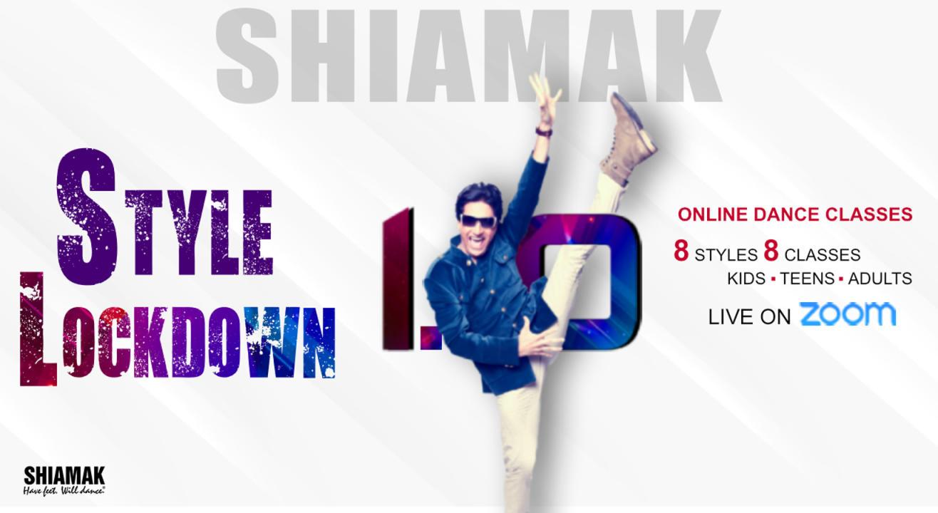 SHIAMAK Style Lockdown - Online Dance Classes