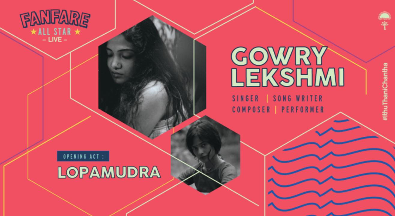 Fanfare All Star Live ft. Gowry Lekshmi  and Lopa Mudra