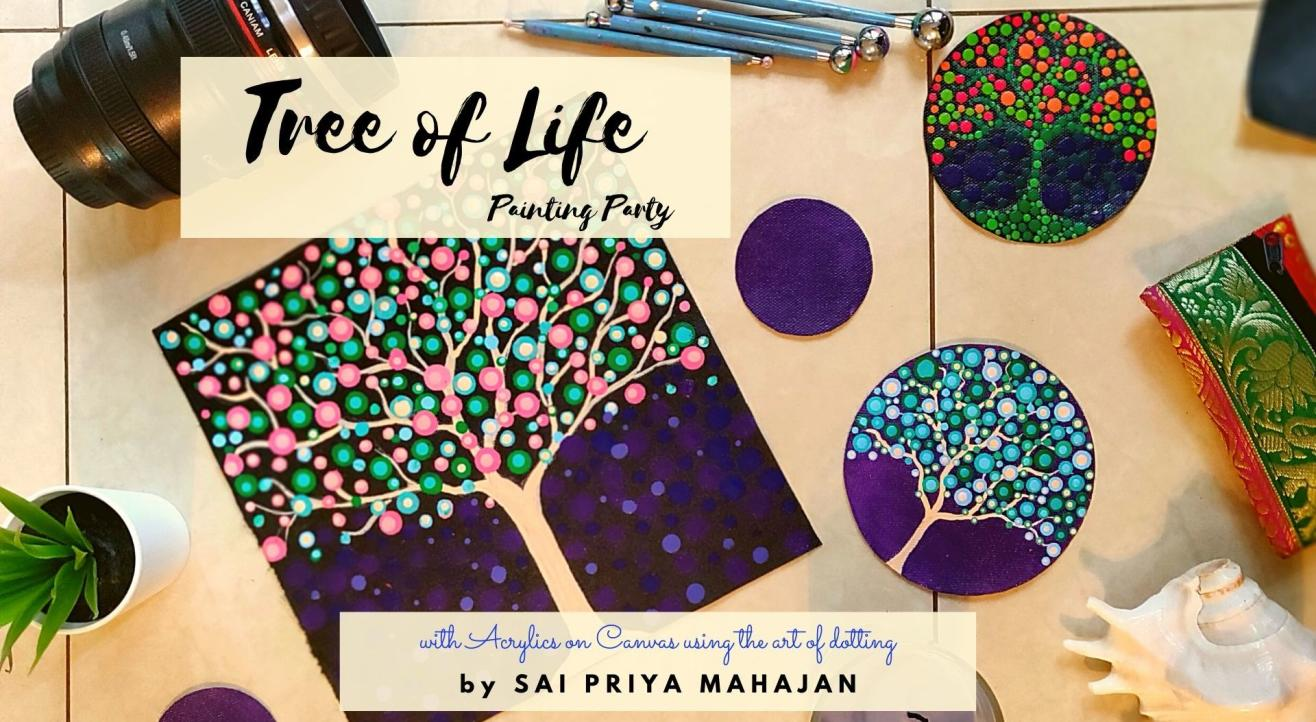 Tree of Life Dotting Party