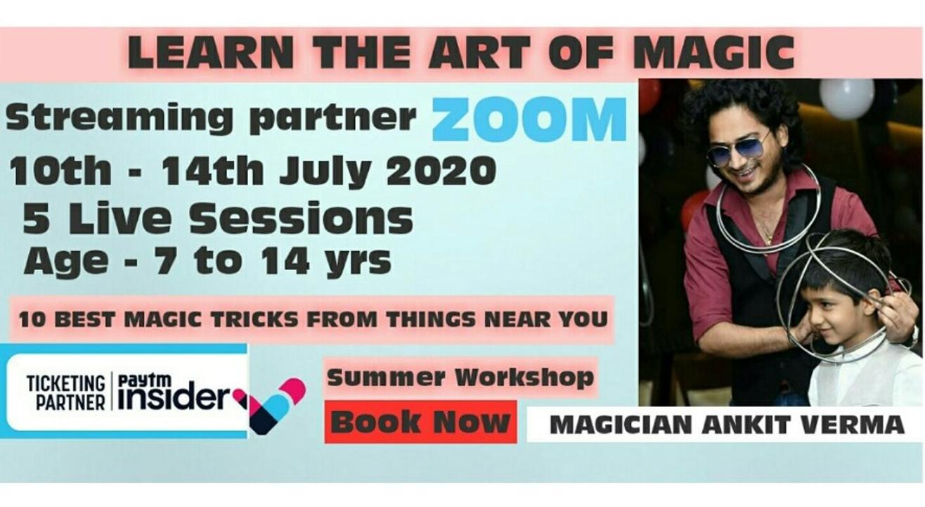 Magic Workshop For Kids