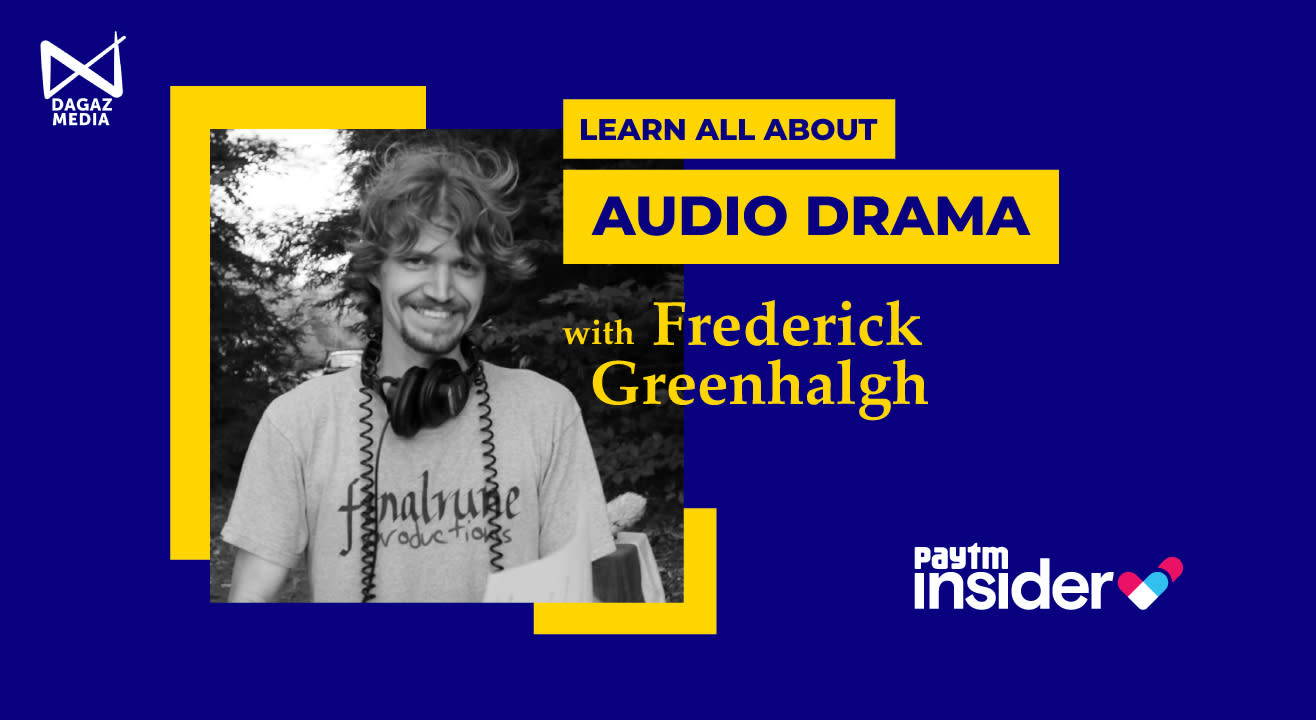 Learn all about Audio Drama with Frederick Greenhalgh