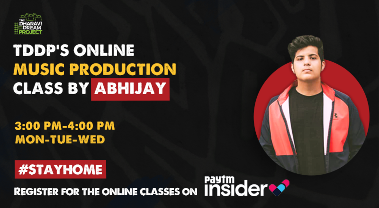 #AfterSchoolofHipHop's online Music Production Workshop with Abhijay!
