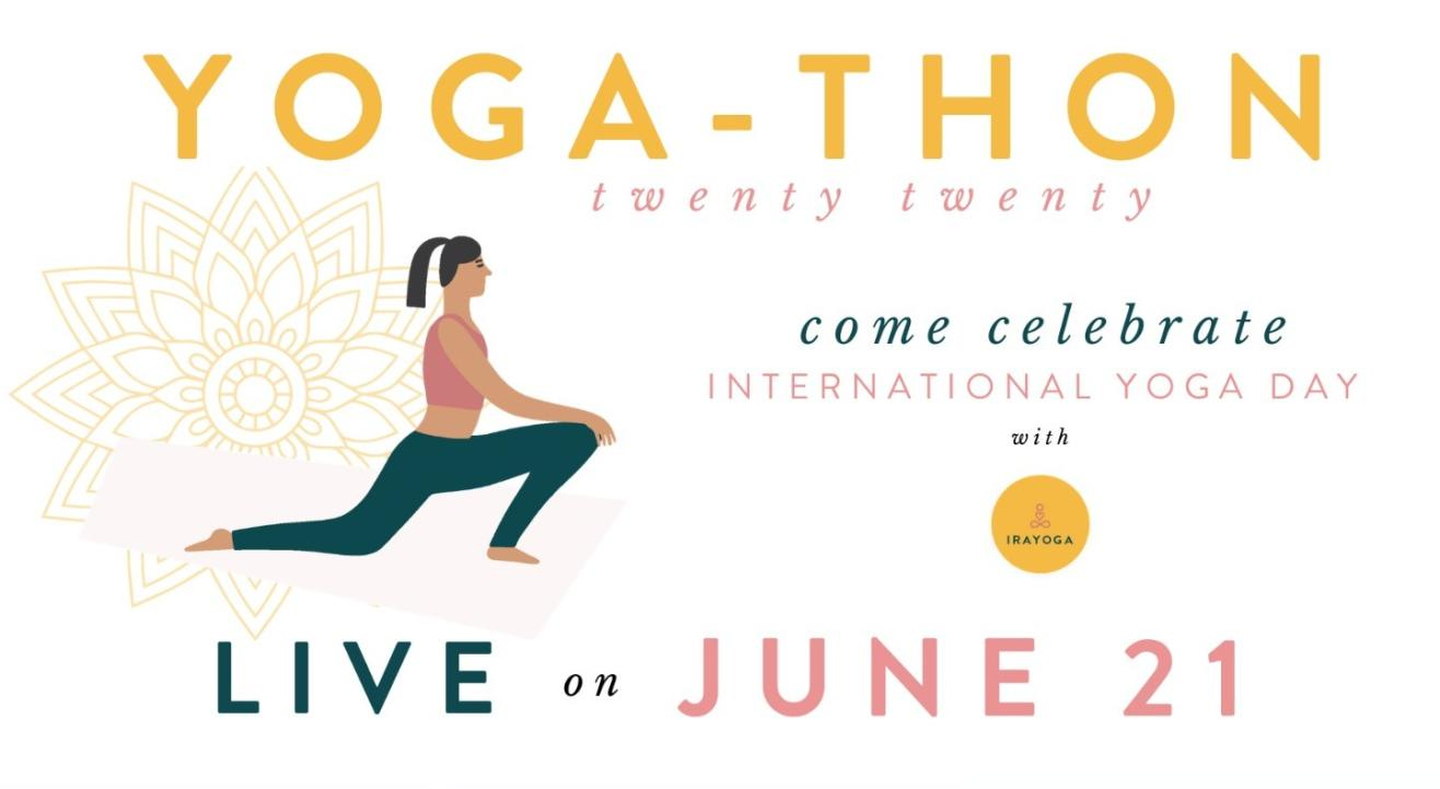 Yogathon 2020 - International Yoga day