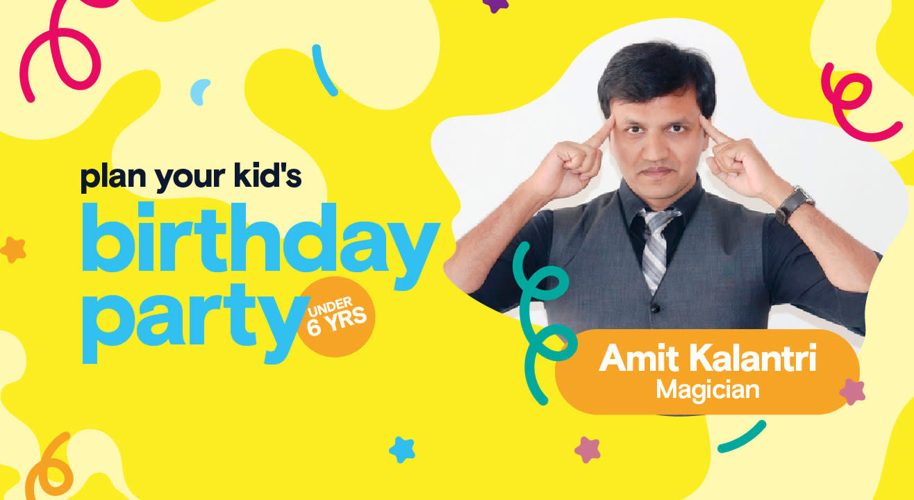 Birthday Party for Little Kids with Amit Kalantri - Magician