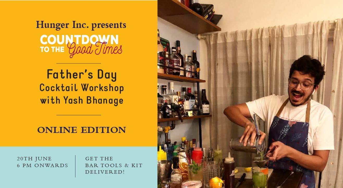 Father's Day Cocktail Workshop With Yash Bhanage