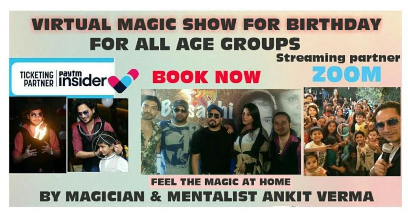 Magic Show for Private with Ankit Verma