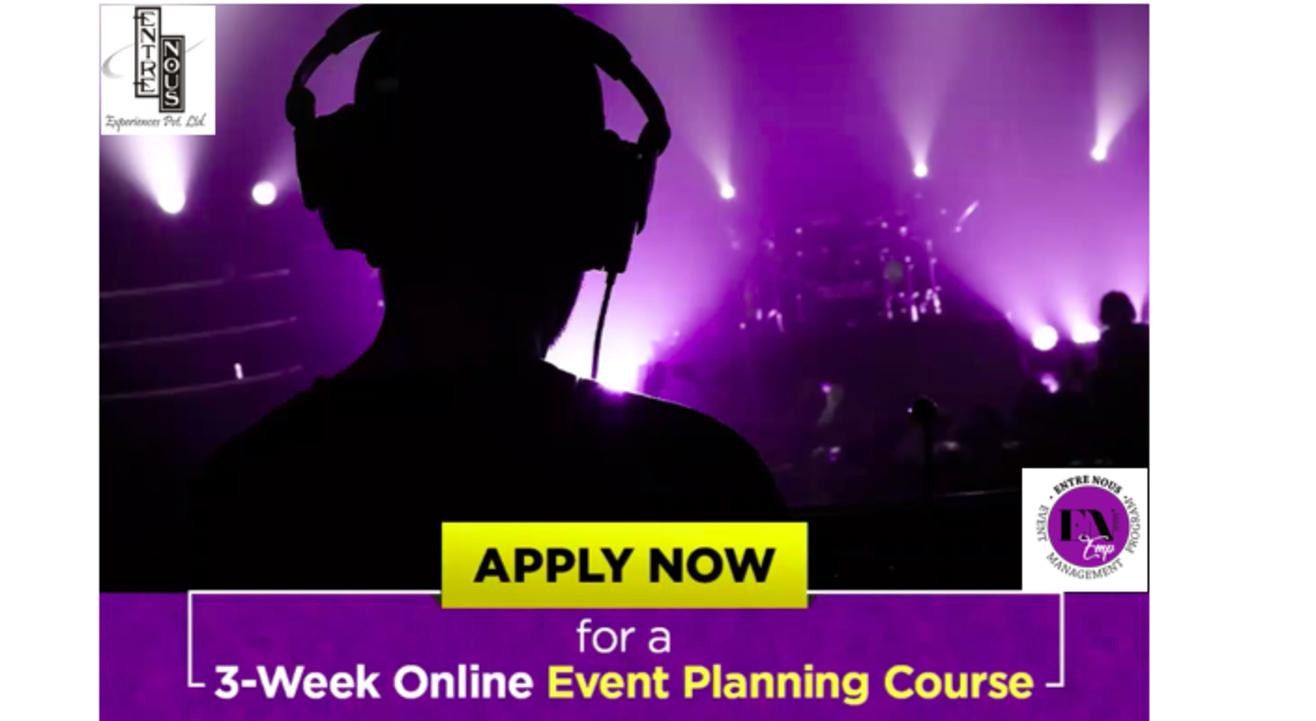 Event Planning Course by Entre Nous Experiences Pvt Ltd