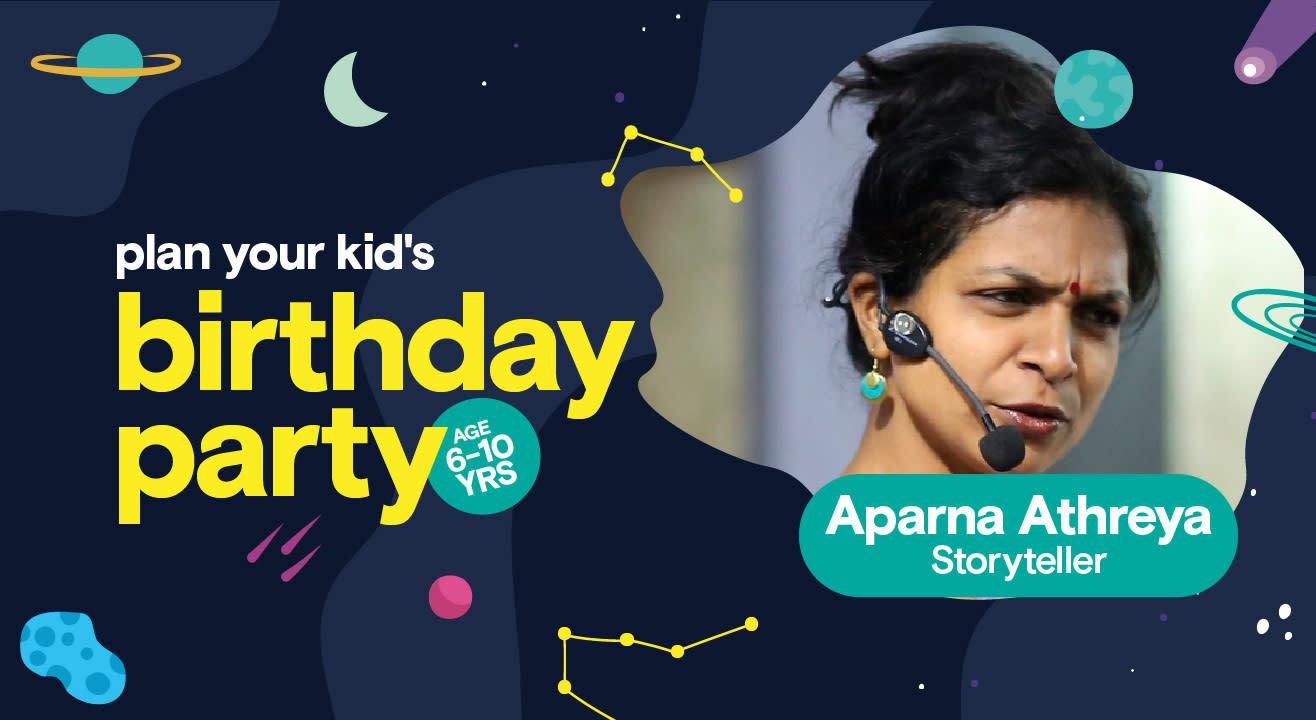 Birthday Party for Kids with Aparna Athreya - Storyteller