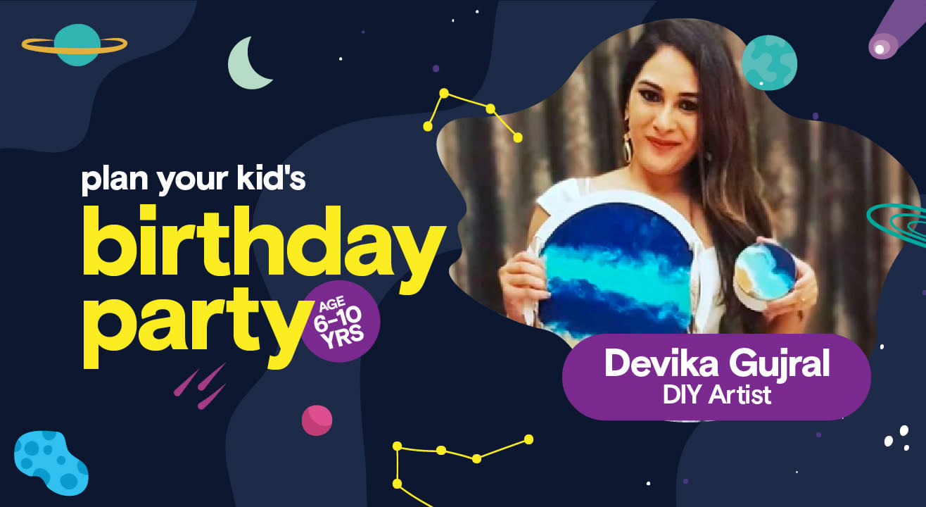 Birthday Party for Kids with Devika Gujral - DIY Activities