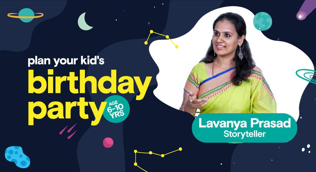 Birthday Party for Kids with Lavanya Prasad - Storyteller
